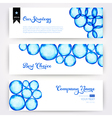 Round shapes watercolor ornament paints watercolor vector