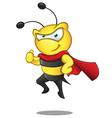 Super bee thumbs up vector