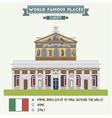 Basilica rome vector