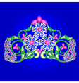 Jewels tiara vector