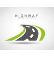 Highway road vector