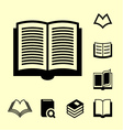 Book icon9 vector
