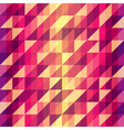 Colorful geometric retro pattern vector