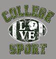 College football vector