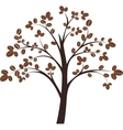 Coffee tree vector