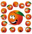 Peach cartoon vector