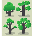 Tree modern collection vector