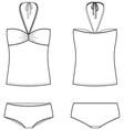 Swimsuit vector