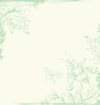 Vintage background green vector