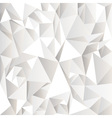White crumpled abstract background vector