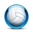 Glass icon sports themes for website or app vector