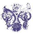 Distressed royal fleur de lys vector