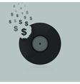 Dollar vinyl vector