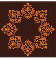 Artistic ottoman pattern series sixty three vector