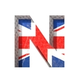 Great britain cutted figure n paste to any vector