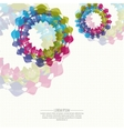 Abstract background with texture of dots colored vector