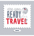 Are you ready for travel vector