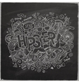 Hipster hand lettering vector