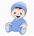 Cartoon baby vector
