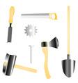 Construction tools vector