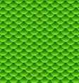 Seamless small green fish scale pattern vector