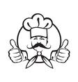 Chef design vector