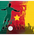 Football cameroon vector