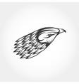 Eagle head design template vector