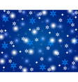 Christmas shiny blue background vector