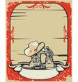 Cowboy elements vector