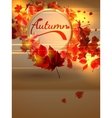 Autumn background with lights plus eps10 vector