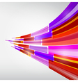 Abstract colorful transparent strips background vector