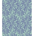 Light blue seamless floral pattern vector