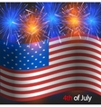 4th of july background independence day vector