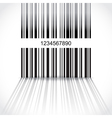Barcode background vector