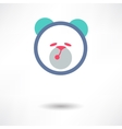 Teddy bear toy - icon isolated vector