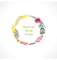Floral wreaths vector