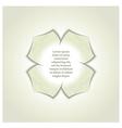 3d gypsum rosette vector