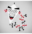 Paper kite - vector