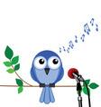 Bird song vector