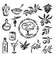 Olive graphics vector