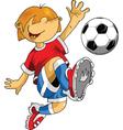 Soccer cartoon vector