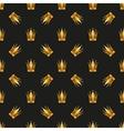 Universal seamless patterns tiling royal vector