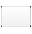 White marker board vector