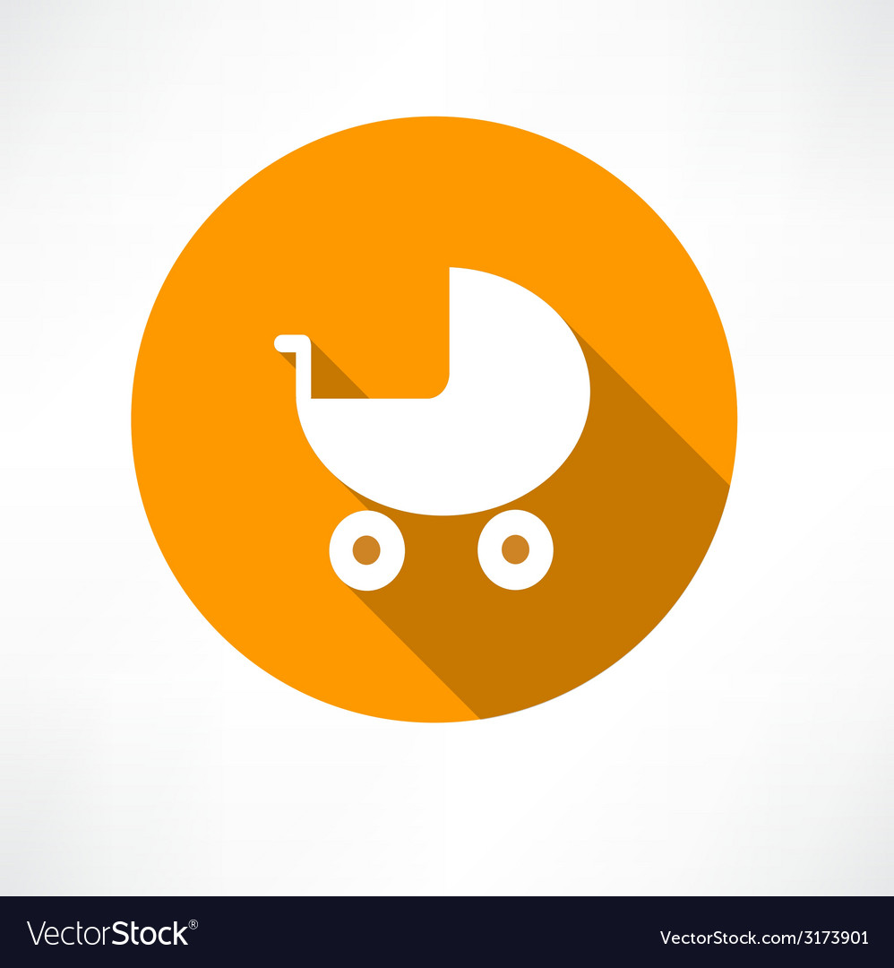 Pram icon vector | Price: 1 Credit (USD $1)