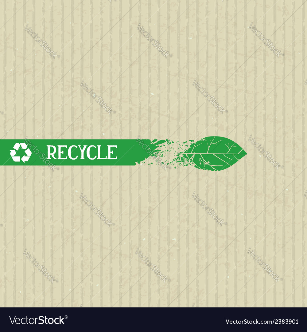 Recycle conceptual element vector | Price: 1 Credit (USD $1)