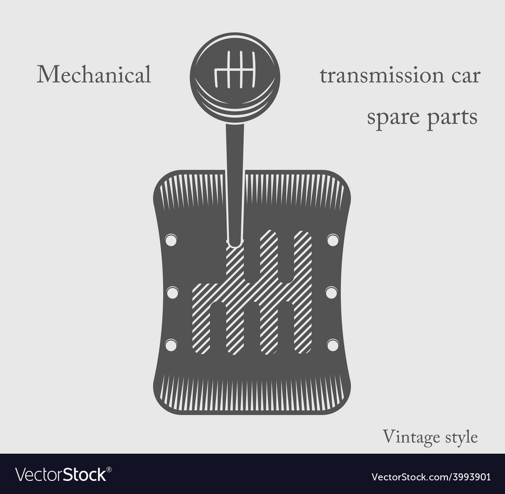 Transmission car vector | Price: 1 Credit (USD $1)