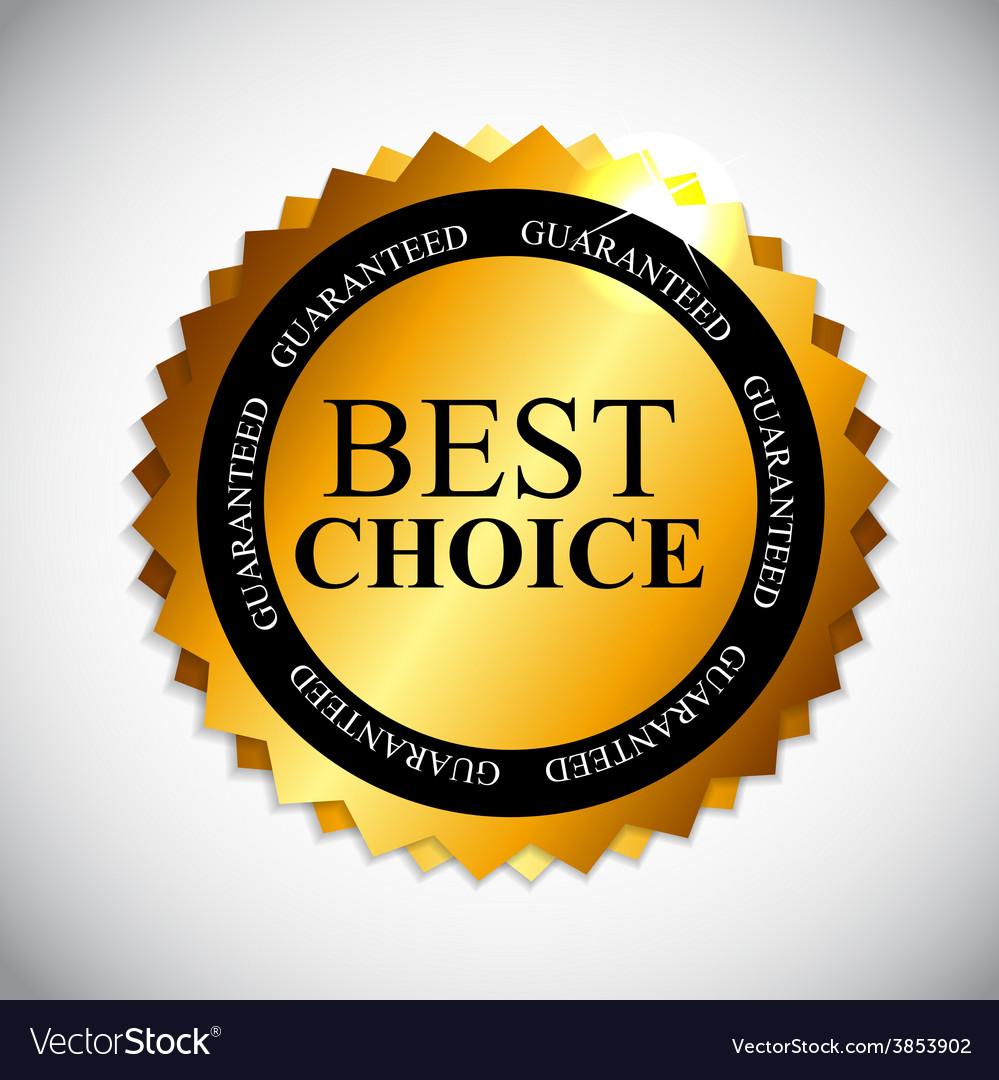 Best choice golden label vector | Price: 1 Credit (USD $1)