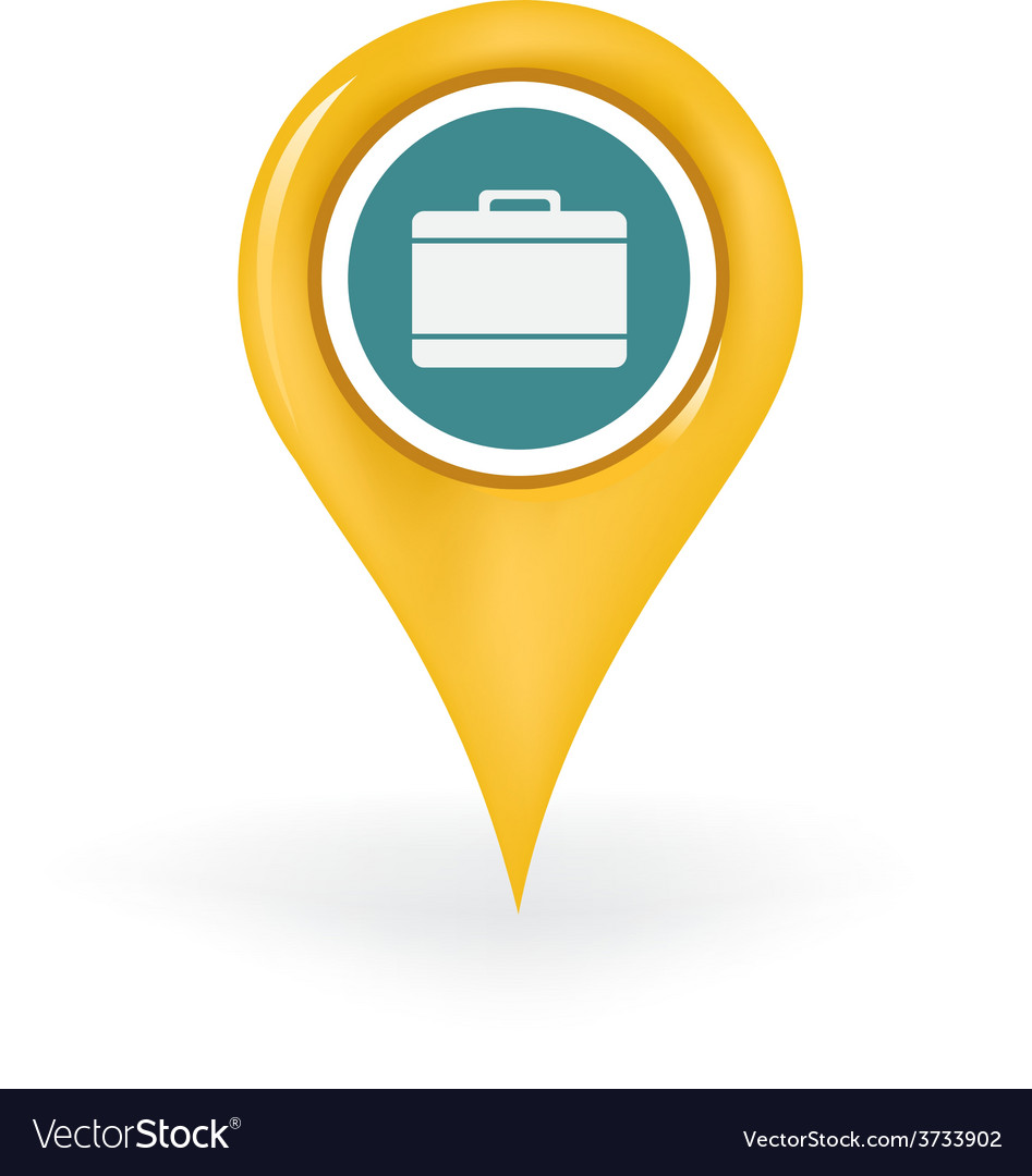 Luggage location vector | Price: 1 Credit (USD $1)