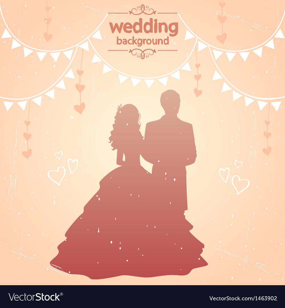 Vintage wedding vector | Price: 1 Credit (USD $1)